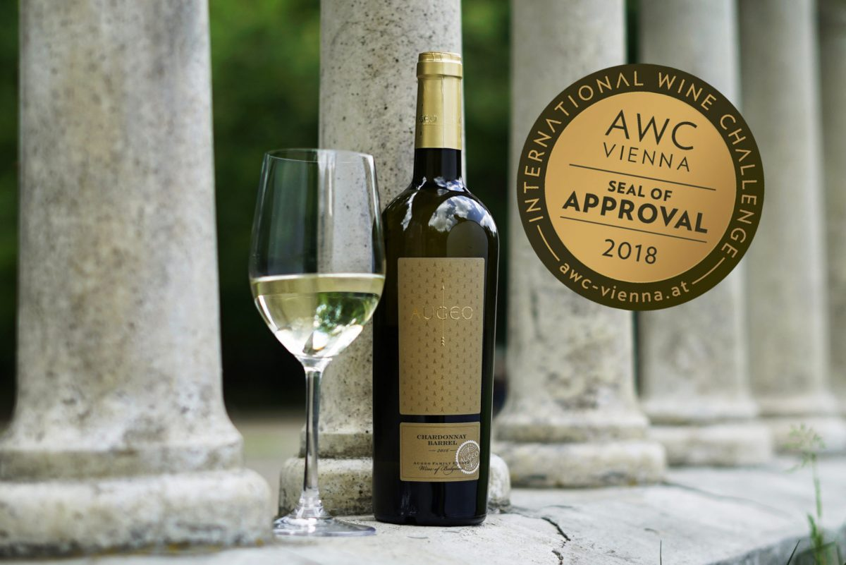 Bronze medal for Augeo Chardonnay Barrel from Vienna