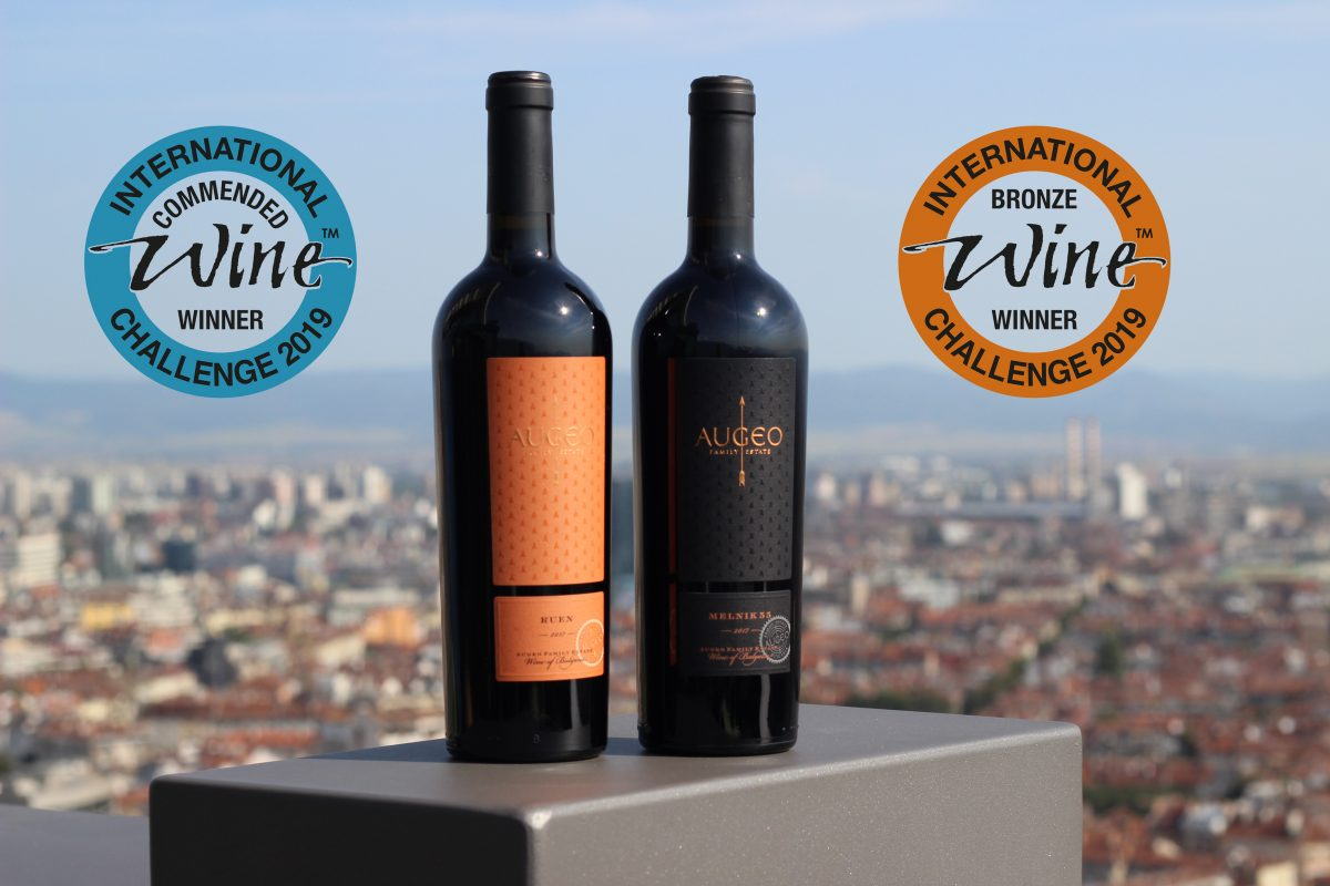 Augeo Family Estate's wines with awards in IWC 2019‎
