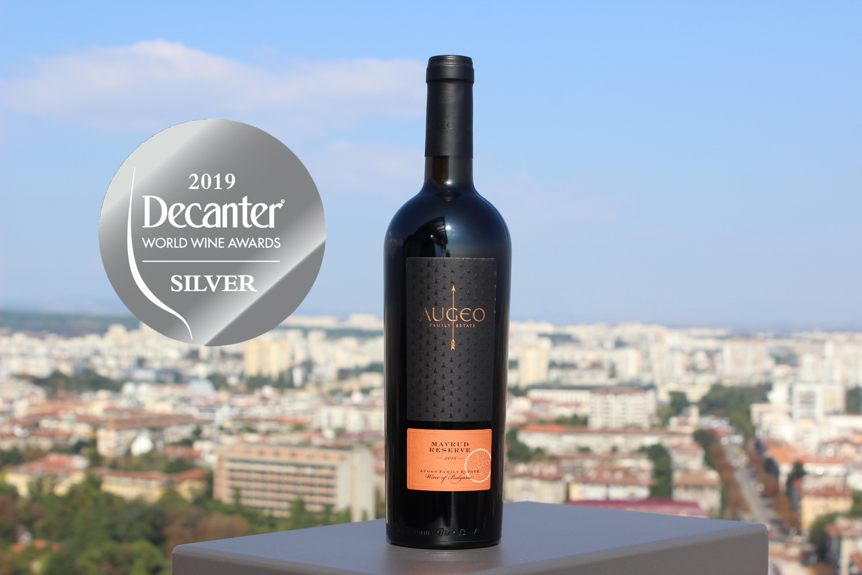 Augeo Mavrud with a Silver Medal at Decanter