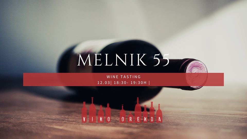 Blind tasting of Melnik 55 at Vino Orenda