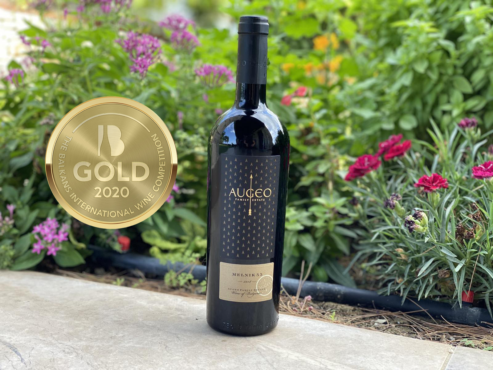 Augeo Family Estate with a gold medal at The Balkans International Wine Competition 2020
